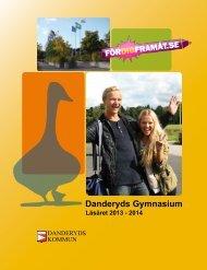 Läsåret 2013 - 2014 - Danderyds gymnasium