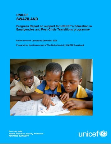 Swaziland Progress Report 2009