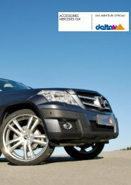 ACCESSORIES MERCEDES GLK - Auto-Stieger
