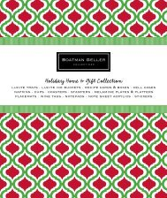 Holiday Home & Gift Collection Personalization ... - Boatman Geller