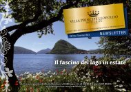 Il fascino del lago in estate - Fondazione Hermann Hesse Montagnola