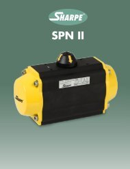 SPN II - Sharpe® Valves