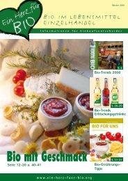 Bio-Ernährungs - Ein Herz für Bio