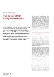 """""""Von innen strahlen, erfolgreich verkaufen"""" (index 3/4 ... - Regina Först"""