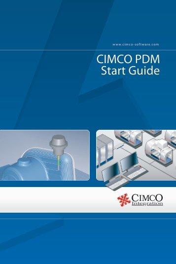 CIMCO PDM Start Guide