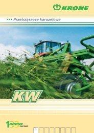 Przetrząsacze karuzelowe KW - Agromix
