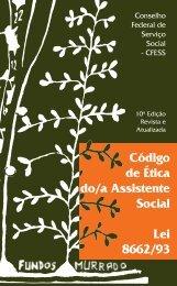 Código de Ética Profissional do/a Assistente Social - CFESS