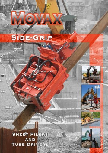 SHeet Piler anD eXCaVatOr - Movax