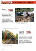 SHeet Piler anD eXCaVatOr - Movax - Page 4