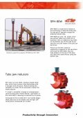 SHeet Piler anD eXCaVatOr - Movax - Page 5
