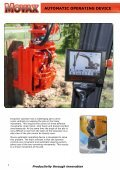 SHeet Piler anD eXCaVatOr - Movax - Page 6