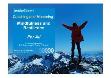 M&R- Society- London-handout - Mentoring