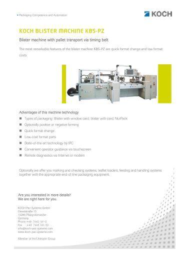 N6 n ce ykk stocko fasteners gmbh for Koch pac systeme