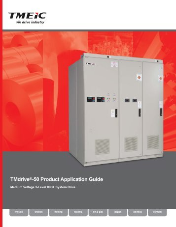 TMdrive®-50 Product Application Guide - Tmeic.com