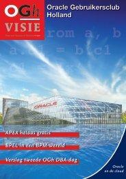 OGh Visie 2010 Zomer - Oracle Gebruikersclub Holland