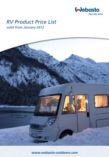 Air Heater - Webasto motorhome