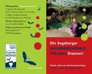 Kalkberghöhle Bad Segeberg