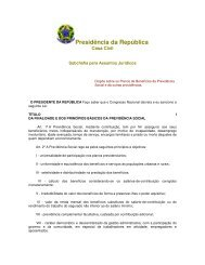 Lei nº. 8213, de 25 de julho de 1991 - Dispõe sobre a Inclusão - Udop