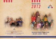 výroční zpráva 2012 - Salesiánské středisko Štěpána Trochty - dům ...