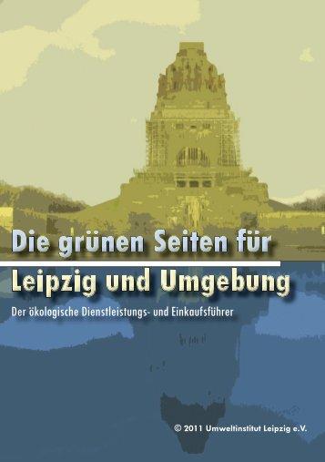 Adressen - Die Grünen Seiten für Leipzig und Umgebung