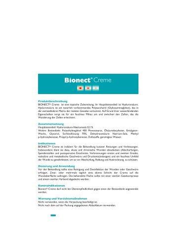 610319-2 Istr. BIONECT Crema 30g Austria.ai - CSC Pharma