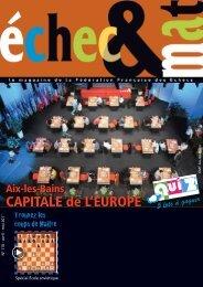 Mise en page 1 - Fédération Française des Échecs