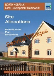 Site Allocations (Villages) - North Norfolk District Council