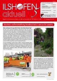 Ausgabe 5-2011 - Gewerbeverein Ilshofen eV / Startseite