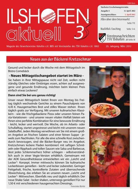 Ausgabe 3/2012 - Gewerbeverein Ilshofen eV / Startseite