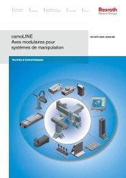 camoLINE Axes modulaires pour systèmes de ... - Bosch Rexroth