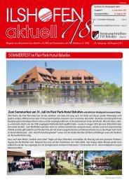 SOMMERFEST im Flair Park-Hotel Ilshofen - Gewerbeverein ...