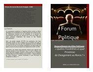 Voir le programme en français - Fondation Friedrich Ebert Stiftung