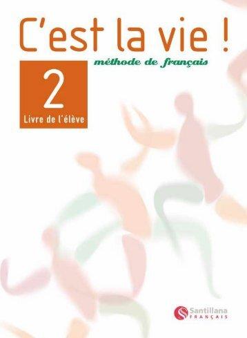 Livre de l'élève 2 Démo - Santillana Français