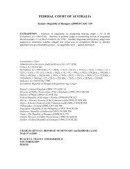 Zentai v. Republic of Hungary [2009] FCAFC 139