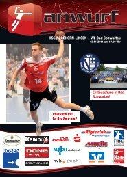 13.11.2011 - VfL Bad Schwartau - HSG Nordhorn-Lingen