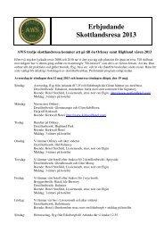 Erbjudande Skottlandsresa 2013 - Avesta Whiskysällskap