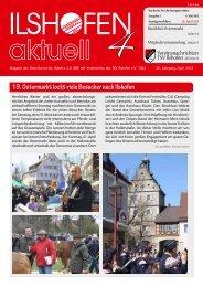19. Ostermarkt lockt viele Besucher nach Ilshofen - Gewerbeverein ...
