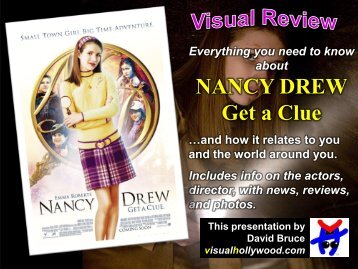 NANCY DREW Get a Clue - Visual Hollywood