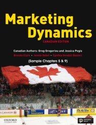 Marketing Dynamics Sample Pages - Oxford University Press