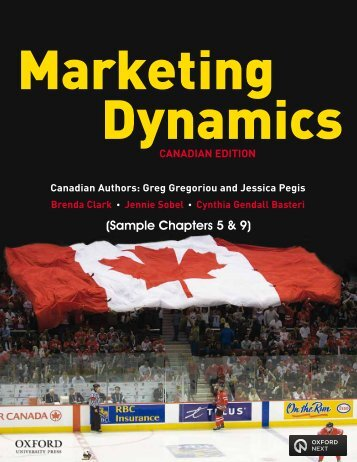 Marketing Dynamics Sample Pages - Oxford University Press