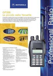 GP388 La piccola radio Versatile - Televideosnc.com