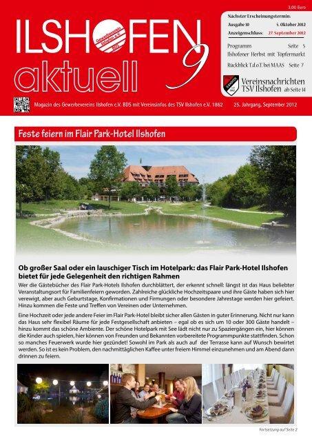 Ausgabe 9/2012 - Gewerbeverein Ilshofen eV / Startseite