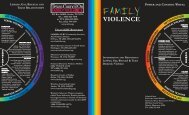 LGBT Caucus Brochure - Texas Council on Family Violence