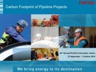 Carbon Footprint of Pipeline Projects - IPLOCA.com