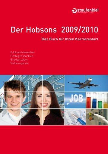 Der Hobsons 2009/2010 - Hobsons.ch