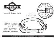 pawz away® mini pet barrier - PetSafe
