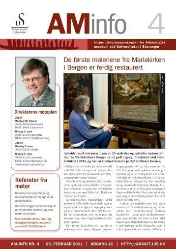Last ned pdf-fil her - Arkeologisk museum - Universitetet i Stavanger