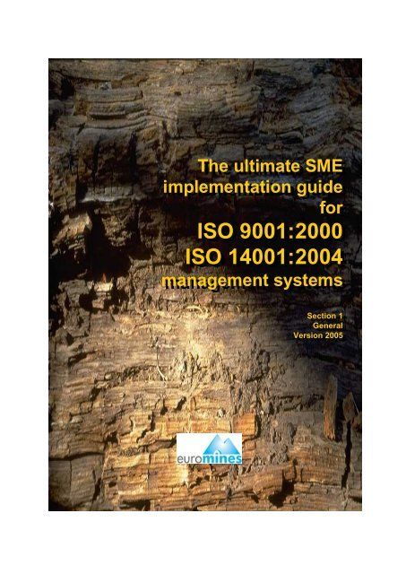 The ultimate SME implementation guide GENERAL - Euromines