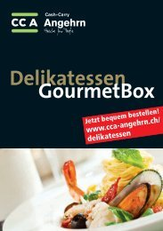 Flyer DelikatessenGourmetBox - CCA