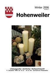 Kranken- und Altenpflegeverein - Hohenweiler